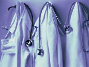 doctor coats hanging