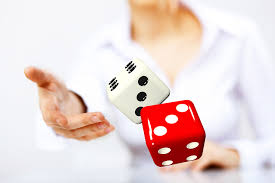 throwing dice