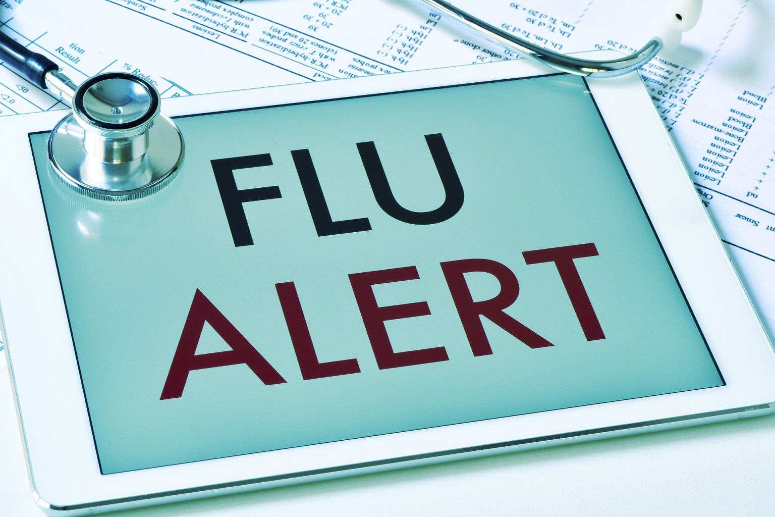 flu alert tablet