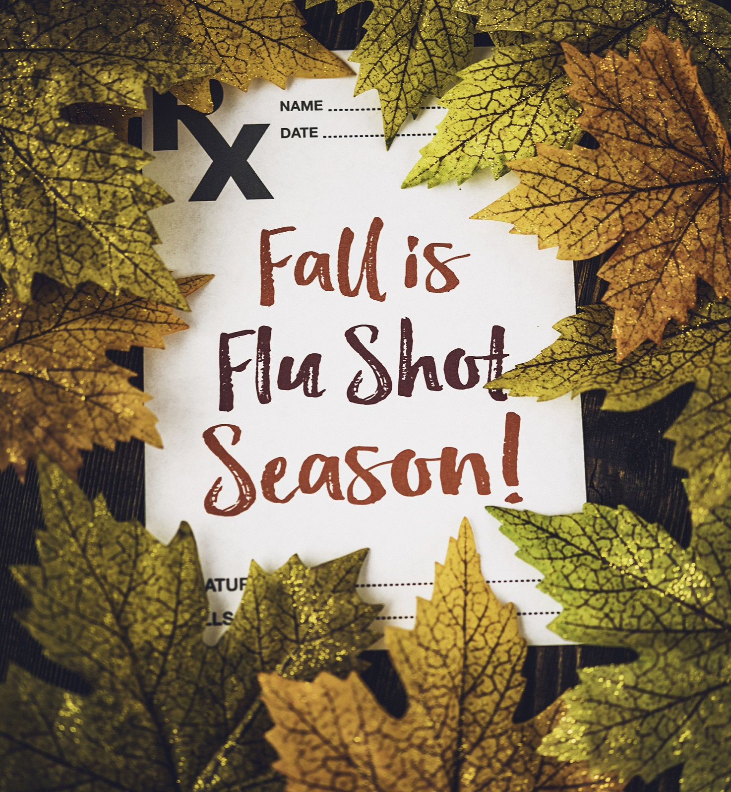 fall is flu season